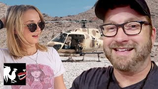 Burnie Vlog: Machine Gun Helicopter