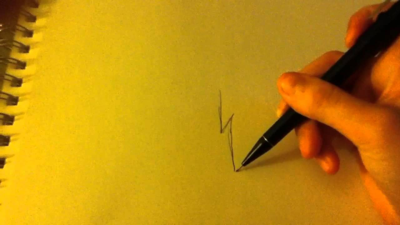 Lighting Bolt Drawings How to Draw a Simple Lightning