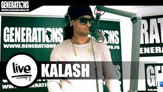 Kalash - Chanson du Mwaka (Live des studios de Generations)