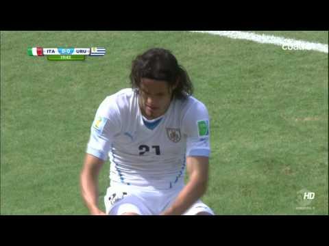Uruguay 1 Italia 0 (1er.Tiempo) (2014) HDTV 720p