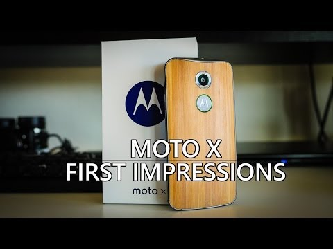 Moto X (2014) Unboxing and First Impressions