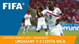 URUGUAY v COSTA RICA (1:3) - 2014 FIFA World Cup™