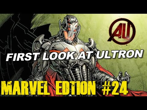 First look at ULTRON in Avengers 2 - [MARVEL EDITION #24]