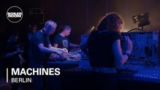 Florian Meindl, Sofus Forsberg, Naty Seres, ZVK with Speedy J   Boiler Room Machines Berlin