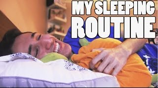 MY SLEEPING ROUTINE | MAHDI BA