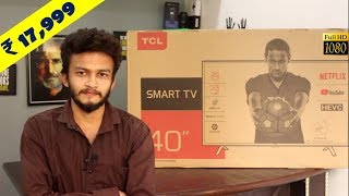 TCL 99.8 cm (40 inches) Full HD Smart LED TV || Best budget segment smart TV || Cheapest LED TV