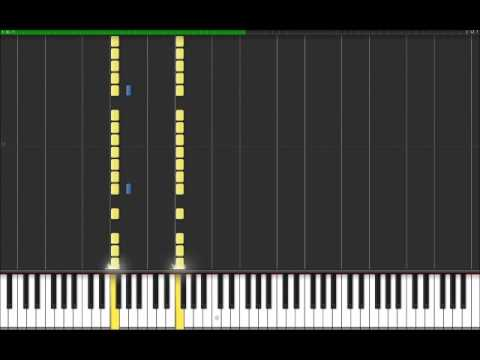 A.T.W.A - System Of A Down (Easy Piano Tutorial) in Synthesia (100% speed)