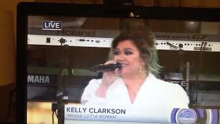 Kelly Clarkson - Performance- Whole Lotta Woman Live On The Today Show - October 11, 2018.