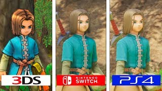 Dragon Quest XI | Switch vs PS4 vs 3DS | Graphics & FPS Comparison | Comparativa
