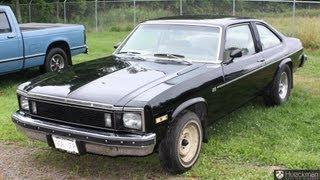 1979 Chevy Nova Custom 305 Black Coupe 8 Cylinder Pioneer Speakers