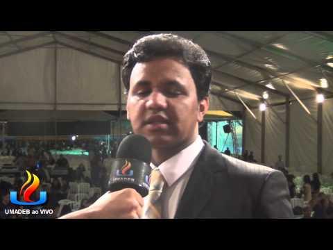 UMADEB 2013   Dia 10 02   Entrevista Pr  Josue Brandão