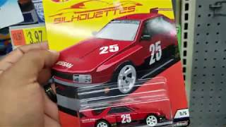 Hot Wheels Hunting Target & Walmart - 2019 Silhouettes & H Case Treasure Hunt