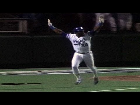 10/27/85: After just missing a home run, Darryl Motley changes bats then homers on his next swing to put the Royals ahead in Game 7 Check out http://MLB.com/...