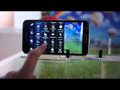 Samsung Galaxy S5 Camera Overview! - Feature Focus [MWC 2014]