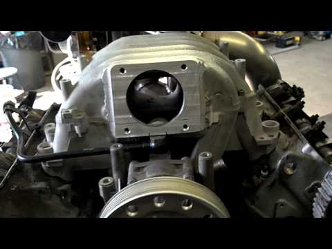 Audi A4 V6 AAH AFC 12V Single Turbo Engine walk around