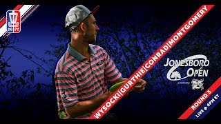 Disc Golf Pro Tour: The Jonesboro Open presented by Prodiscus - Round Three