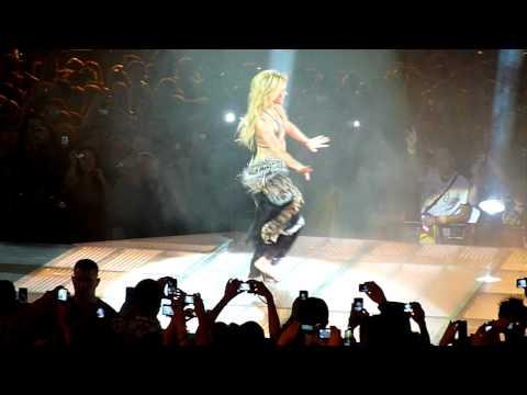 Shakira - Danse solo - Bercy 140611