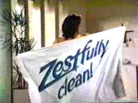 VINTAGE 80S ZEST SOAP COMMERCIAL ZESTFULLY CLEAN YouTube