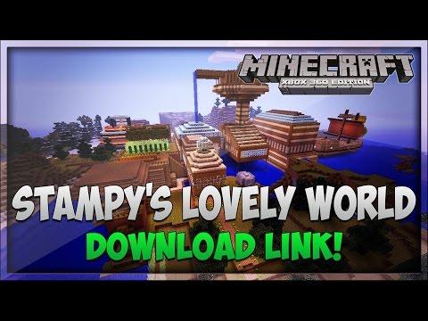 Minecraft Xbox 360: Stampy's Lovely World [Remake] - Download Link!