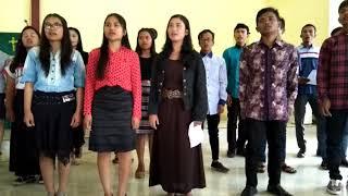 Koor pemuda GKPS Pangambatan