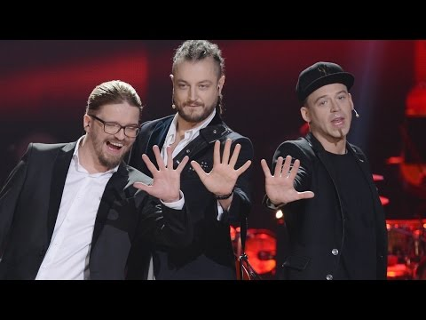 "The Voice of Poland VI - Tobiasz Staniszewski, Tomson i Baron - ""Man's World"" - Finał"