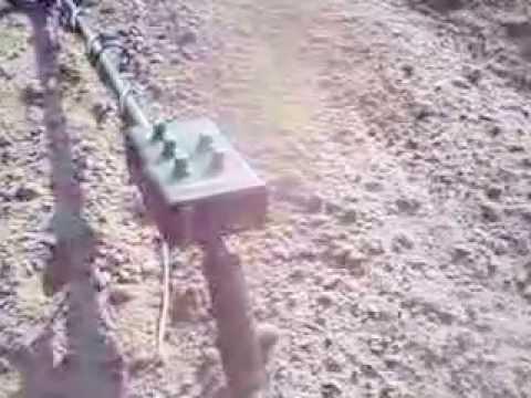 pierwsze wykopki na armand prospector 2