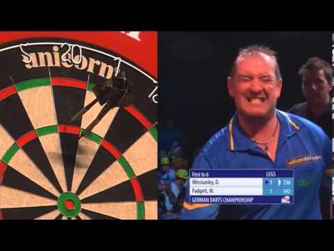 German Darts Championship Round One Dean Winstanley v Matt Padgett