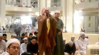 Azan Syeikh Abd Karim Omar Al-Makki Di Masjid Besi Putrajaya