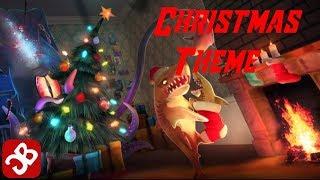 Hungry shark world  christmas theme