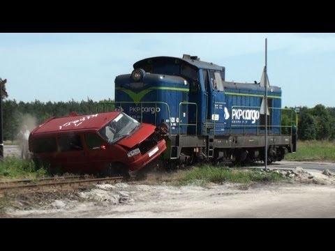 Katastrofa - Wypadek Na Przejeździe Kolejowym