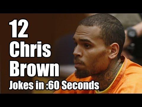 12 Chris Brown Jail Jokes in 60 Seconds