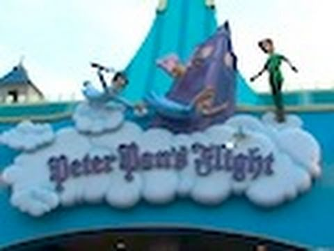 Peter Pan s Flight ride-through at Magic Kingdom at Walt Disney World