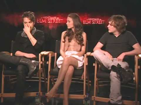 A nightmare on elm street interview with the cast and behind the scenes!!!! - PART 2