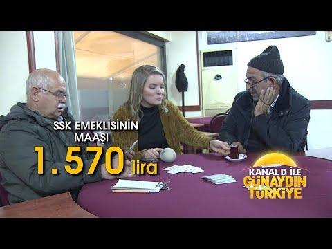 Kanal D ile Günaydın Türkiye- Memur ve emeklinin zammı belli oldu!