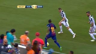 Neymar Jr Destroying Juventus  22 07 2017 Juventus Vs Barcelona 1 2