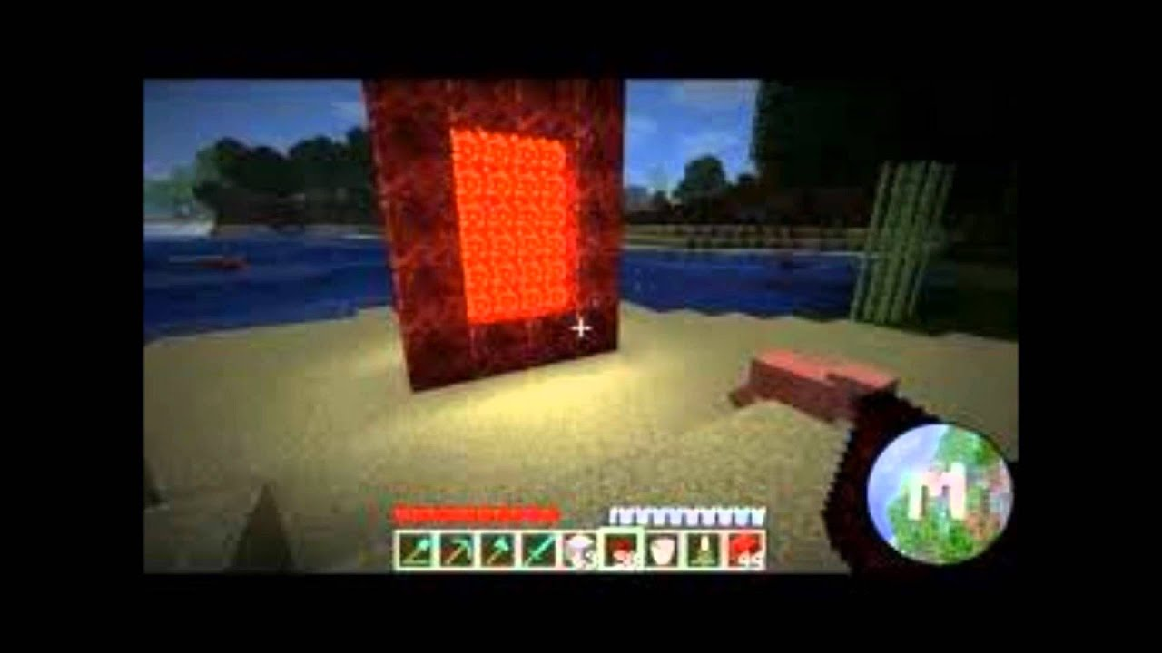 All minecraft portals - YouTube
