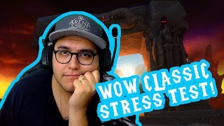 Level 5 took how long!? World of Warcraft Classic Stress Test... test.