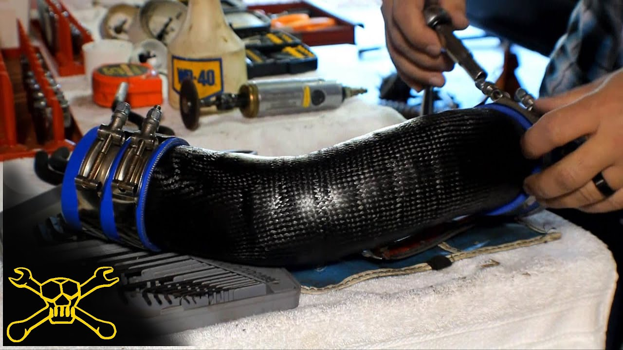 How To Make Carbon Fiber Induction Tubes Youtube