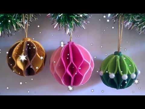 Bolinhas de Natal em E.V.A!