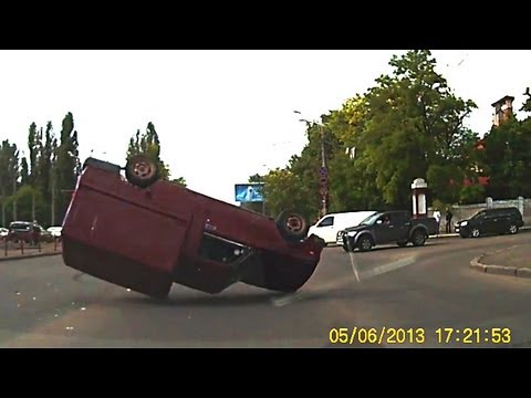 New Car Crash Compilation 2013 June Russia
