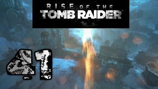 Let's Play Rise of the Tomb Raider (100%) - Part 41: Katapult Feuer
