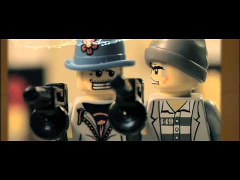 """The Wild Crunch"" Stop Motion action without brickarms"