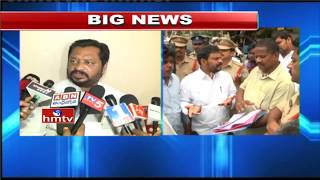 Former MP G.V. Harsha Kumar Threatens to Sit of Fast About Garagaparru Social Boycott