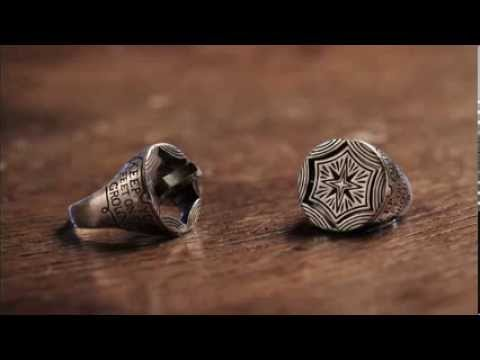 A video starring the new Eyes & Stars signet ring by Digby & Iona