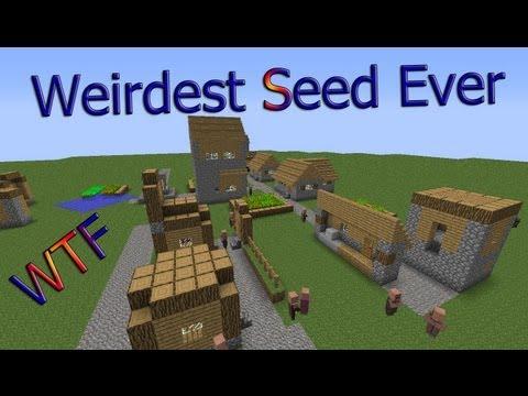 Weirdest Minecraft Seed Ever