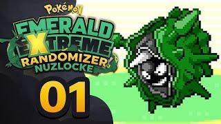 GETTING DESTROYED ALREADY?! - Pokémon Emerald EXTREME Randomizer Nuzlocke w/ Supra! Episode #01