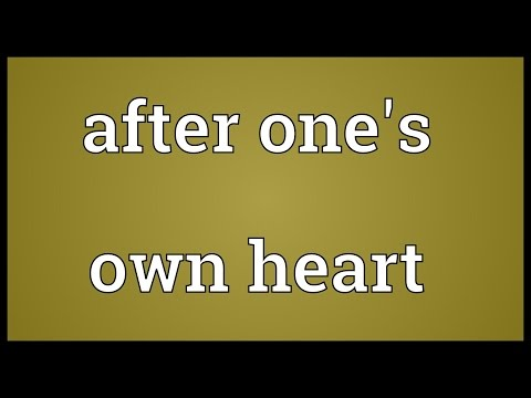 Header of After One's Own Heart