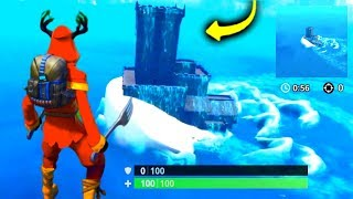 I Glitched Inside The MONSTER & Found This.. (Fortnite)