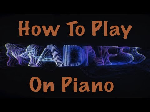 How To Play Madness By Muse On Piano