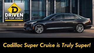 True No Hands Driving! 2019 Cadillac CT6 Super Cruise